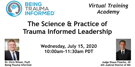 The Science & Practice of Trauma Informed leadership tickets