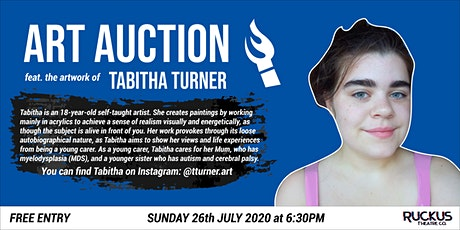 Art  Auction featuring the artwork of Tabitha Turner tickets