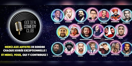Golden Comedy Club : Saison 03 billets