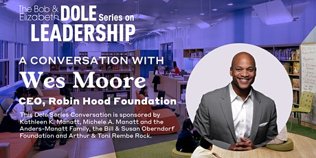 Poverty, Policing, and Protests: A Conversation with Wes Moore tickets