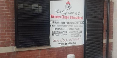Winners Chapel Sunday Service 3 tickets