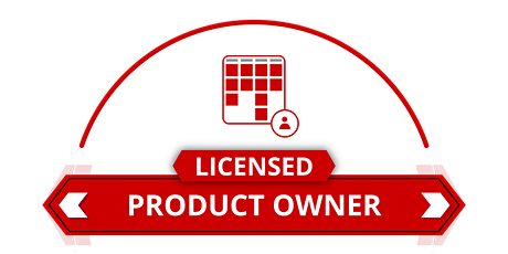 Licensed Scrum Product Owner tickets