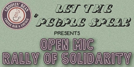 Let The People Speak: An Open Mic Charity Event LIVESTREAM tickets
