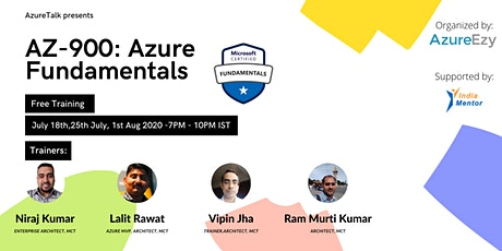[Webinar]Azure Fundamentals (AZ-900) Free Training tickets