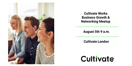 Cultivate Works! -  London tickets