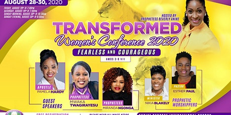 Transformed Women's Conference 2020 tickets