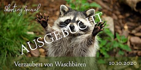 """Shooting Special """"Verzaubert von Waschbären"""" Tickets"""