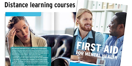 Mental Health First Aid Level 2 Distance E-Learning tickets