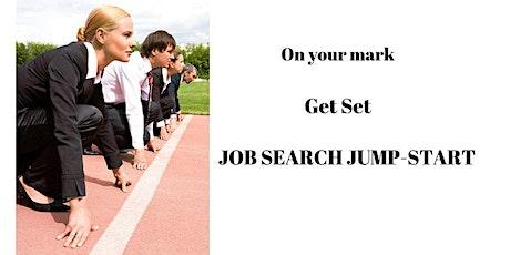 Job Search Jump Start - via Zoom tickets