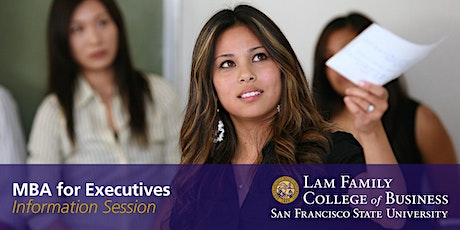 MBA for Executives Information Session (WEBINAR) tickets