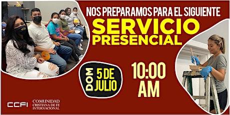 Servicio Familiar 5 de Julio de 2020 - 10:00 AM tickets