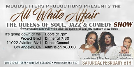 All White Affair  - The Queens of Soul, Jazz & Comedy tickets