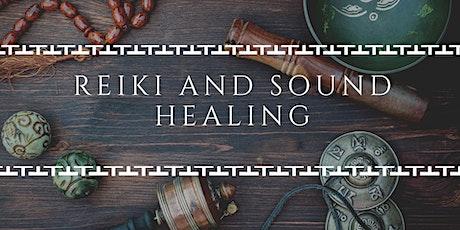 Reiki and Sound Healing tickets
