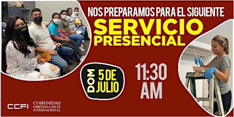 Servicio Familiar 5 de Julio de 2020 - 11:30 AM tickets