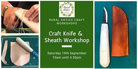 Craft Knife & Sheath Workshop tickets