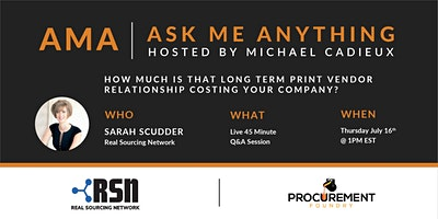 AMA- Ask Me Anything with Sarah Scudder