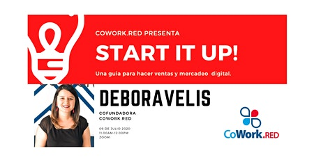START IT UP: Una guia para hacer ventas y mercadeo digital boletos