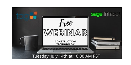 Webinar: Construction & The Cloud - Building a Future with Real-Time Data tickets