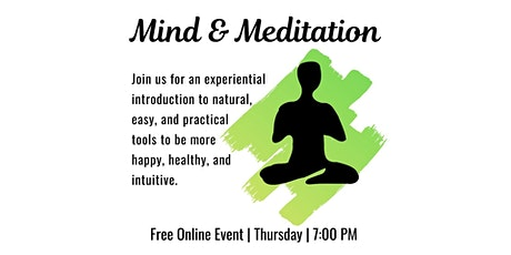 Online Mind and Meditation tickets