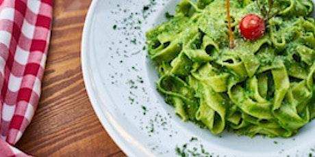 Online Fresh Pasta with Pesto tickets