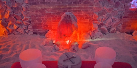 Sound Bath Meditation in the salt cave tickets