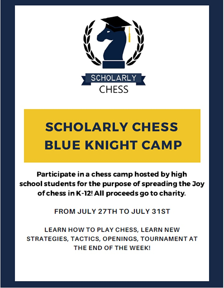 Blue Knights Chess Camp image