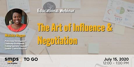 The Art of Influence & Negotiation tickets