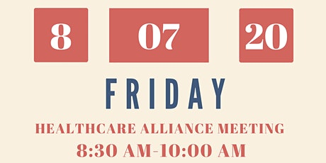 Georgetown Healthcare Alliance Meeting tickets