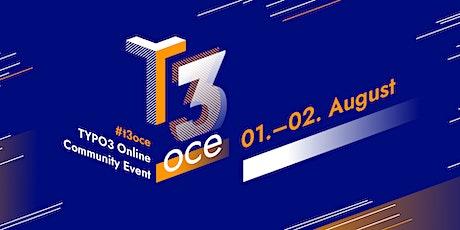 T3OCE Tickets