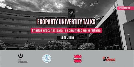 Ekoparty University Talks Perú 2020 tickets