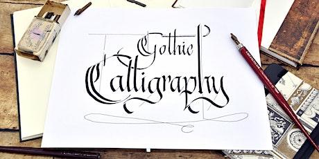 Gothic Calligraphy - schreiben mit Bandzugfeder und mehr tickets