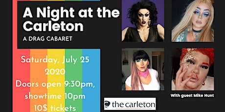 A Night at the Carleton - A Drag Cabaret tickets