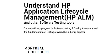 Understand HP Application Life cycle Management & Software Testing tickets