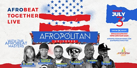 AfropolitanUniverse V-Virtual Afrobeats Party & In tickets