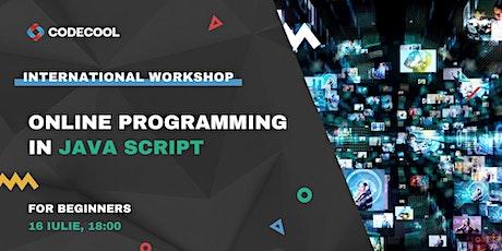 Programming in JavaScript - FREE Workshop tickets
