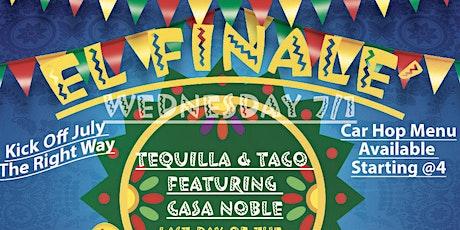 """El Final """"Taco & Tequila Night tickets"""