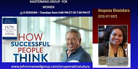 Mastermind Group for Women #202005 - How Successful People Think tickets