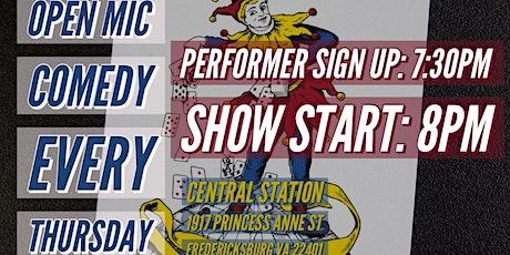 FXBG Comedy Night @ Central Station tickets