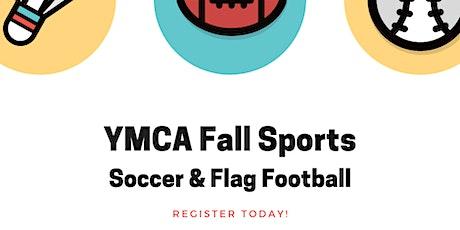 YMCA Fall Sports 2020 tickets