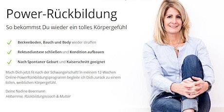 FIT NACH DER SCHWANGERSCHAFT - Rückbildungs-Onlinekurs Tickets