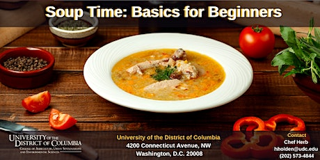 Soup Time: Basics for Beginners tickets