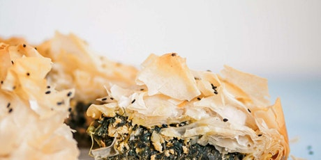 Classic Greek Spanakopita - Online Cooking Class by Cozymeal™ tickets