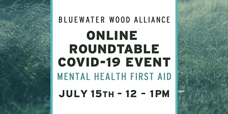 BWA Online Roundtable Event Mental Health First Aid tickets