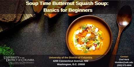 Soup Time Butternut Squash Soup: Basics for Beginners tickets