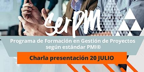 Charla Informativa: Programa de Formación en Gestión de Proyectos PMI entradas