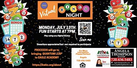Virtual Bingo for A Cause tickets