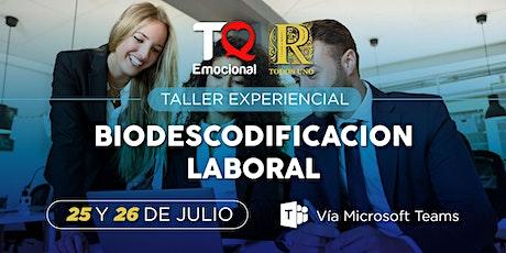 Biodescodificación Laboral tickets