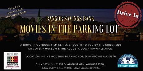 Aladdin - Bangor Savings Bank  Movies in the Park(ing lot) tickets