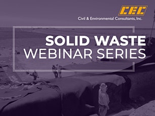 Solid Waste Webinar Series: Stormwater Management at Landfills tickets