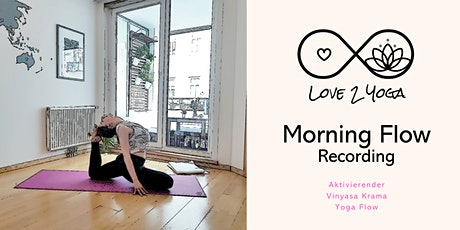 Recording: Love2Yoga - Morning Flow Tickets